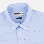 Barbour Cuthbert Men's Shirt Sky photo- 1
