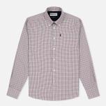 Мужская рубашка Barbour Elwood Crimson фото- 0