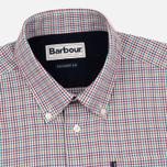 Мужская рубашка Barbour Elwood Crimson фото- 1