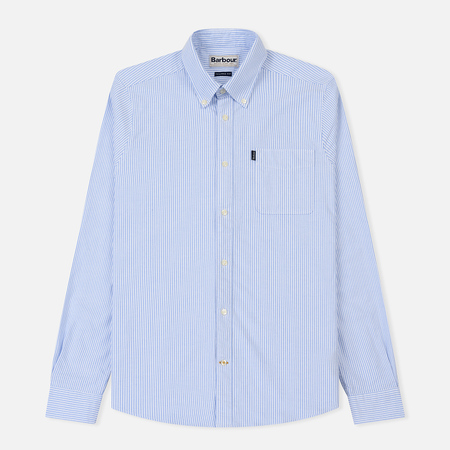 Мужская рубашка Barbour Endsleigh Oxford Sky Blue