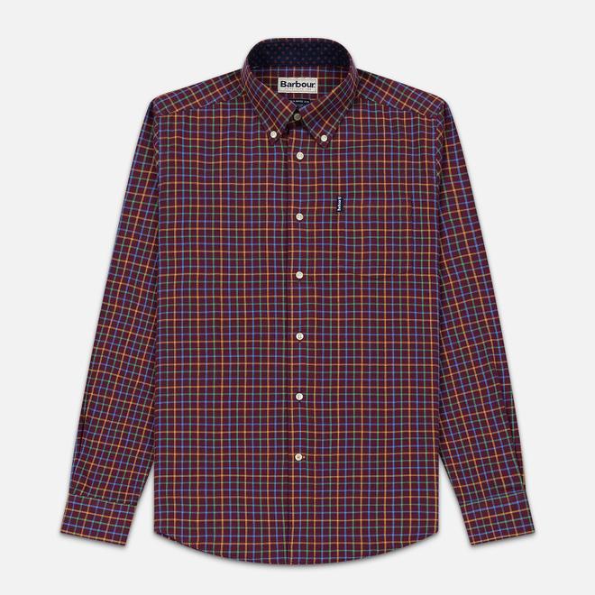 Мужская рубашка Barbour Ethan Burgundy