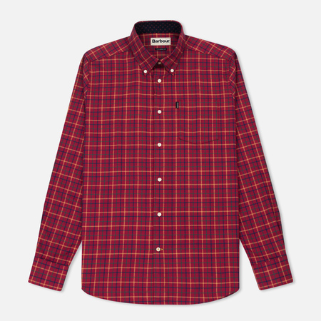 Мужская рубашка Barbour Ethan Ruby