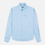Мужская рубашка Barbour Frank Blue фото- 0