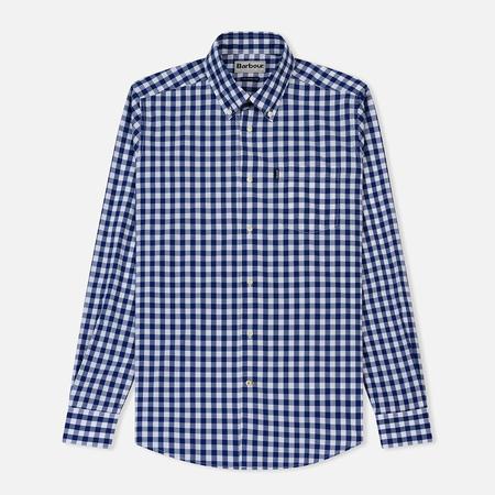Мужская рубашка Barbour Gingham Pale Blue