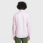 Мужская рубашка Barbour Gingham Pink фото- 3