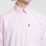 Мужская рубашка Barbour Gingham Pink фото- 2