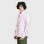 Мужская рубашка Barbour Gingham Pink фото- 1