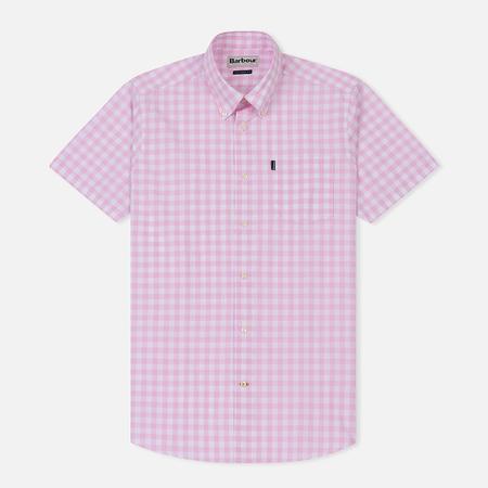Мужская рубашка Barbour Gingham SS Pink