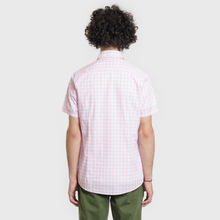 Мужская рубашка Barbour Gingham SS Pink фото- 3