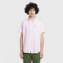 Мужская рубашка Barbour Gingham SS Pink фото- 1