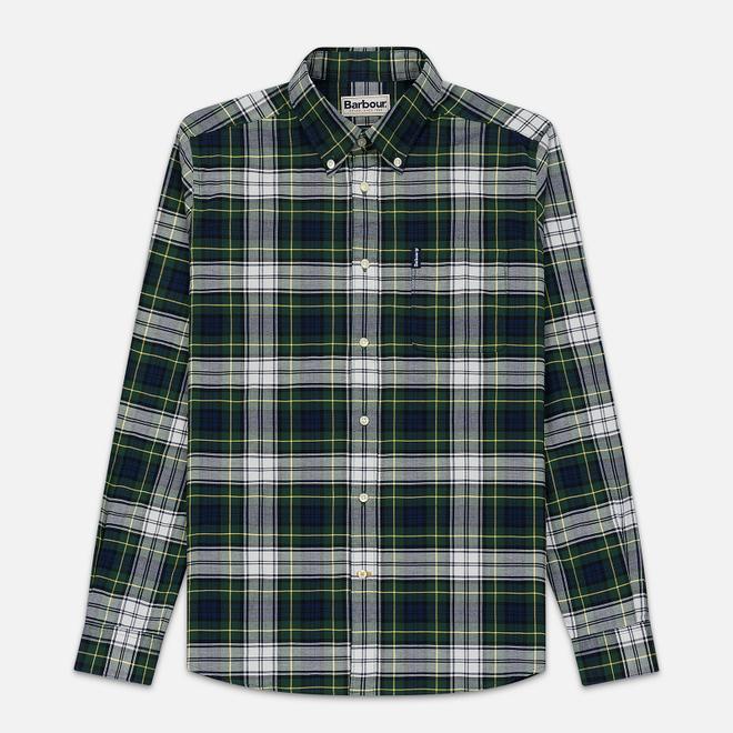 Мужская рубашка Barbour Highland Check 11 Green