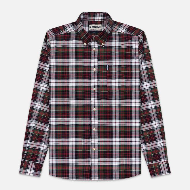 Мужская рубашка Barbour Highland Check 11 Red