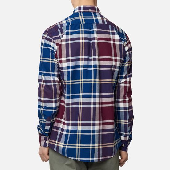 Мужская рубашка Barbour Highland Check 23 Merlot