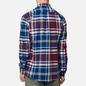 Мужская рубашка Barbour Highland Check 23 Merlot фото - 3
