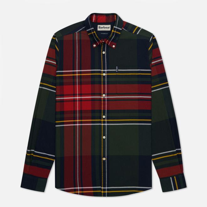 Мужская рубашка Barbour Highland Check 23 Navy