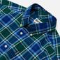 Мужская рубашка Barbour Highland Check 27 Green фото - 1