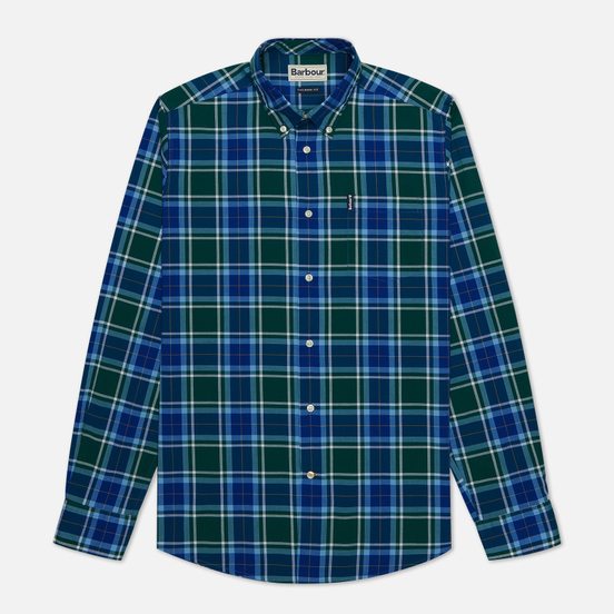 Мужская рубашка Barbour Highland Check 27 Green
