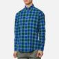 Мужская рубашка Barbour Highland Check 27 Green фото - 2