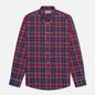 Мужская рубашка Barbour Highland Check 27 Red фото - 0