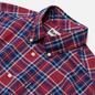 Мужская рубашка Barbour Highland Check 27 Red фото - 1