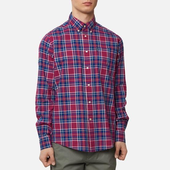 Мужская рубашка Barbour Highland Check 27 Red