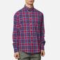 Мужская рубашка Barbour Highland Check 27 Red фото - 2
