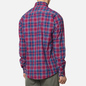 Мужская рубашка Barbour Highland Check 27 Red фото - 3