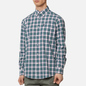 Мужская рубашка Barbour Highland Check 28 Green фото - 2