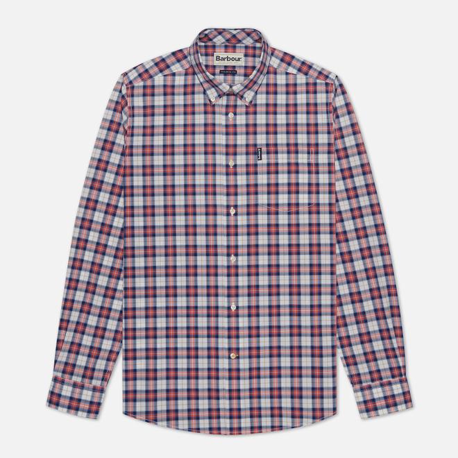 Мужская рубашка Barbour Highland Check 28 Red