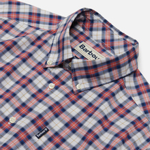 Мужская рубашка Barbour Highland Check 28 Red фото- 1