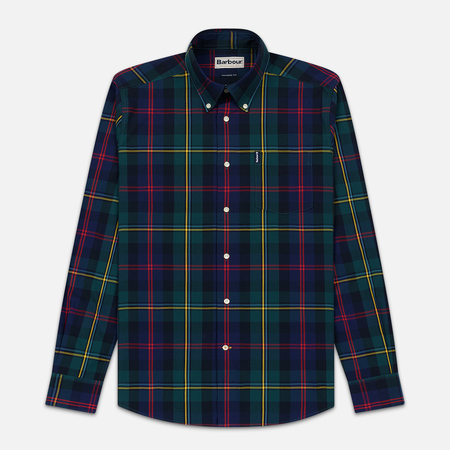 Мужская рубашка Barbour Highland Check 9 Green