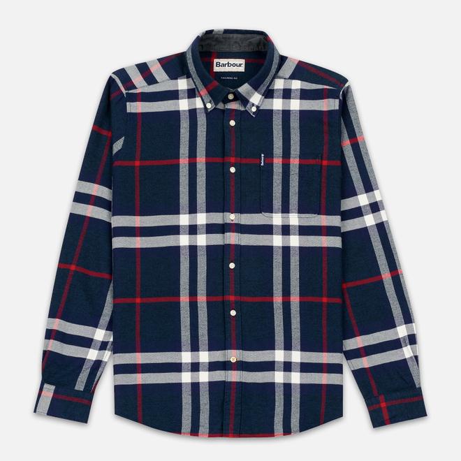 Мужская рубашка Barbour Highland Navy
