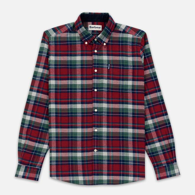 Мужская рубашка Barbour Highland Red