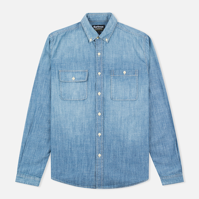 Barbour International Austin Slim Fit Men's Shirt Stone Wash