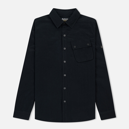 Мужская рубашка Barbour International Control Black
