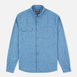 Мужская рубашка Barbour International Harold Blue фото- 0