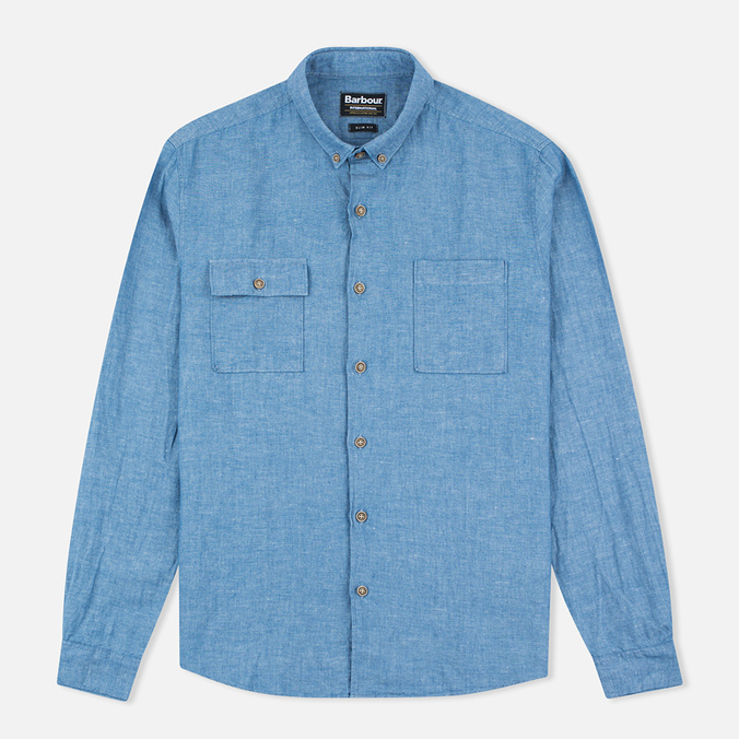 Мужская рубашка Barbour International Harold Blue