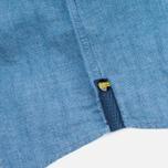 Barbour International Harold Men's Shirt Blue photo- 4