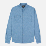 Barbour International Taylor Men's Shirt Blue photo- 0