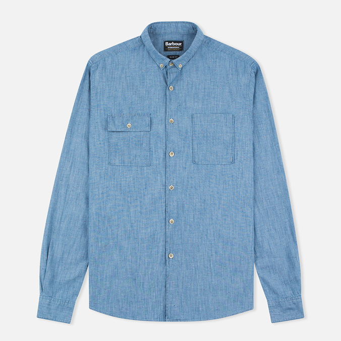 Barbour International Taylor Men's Shirt Blue