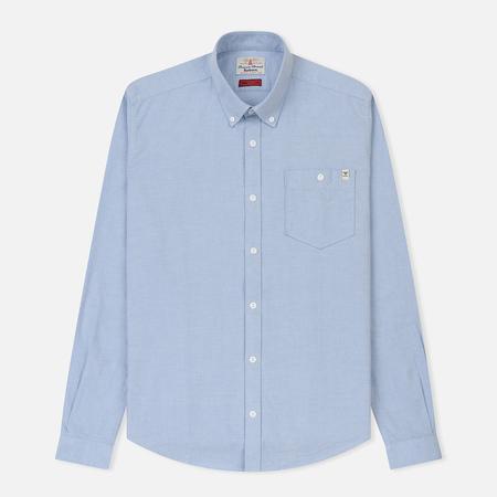 Мужская рубашка Barbour Lang Blue