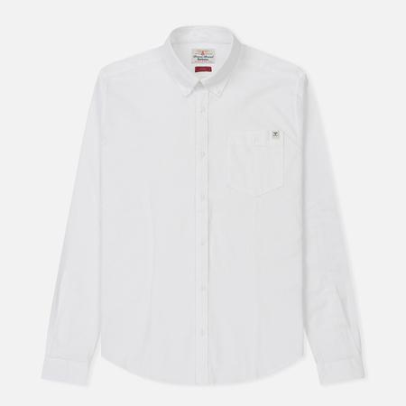 Мужская рубашка Barbour Lang White
