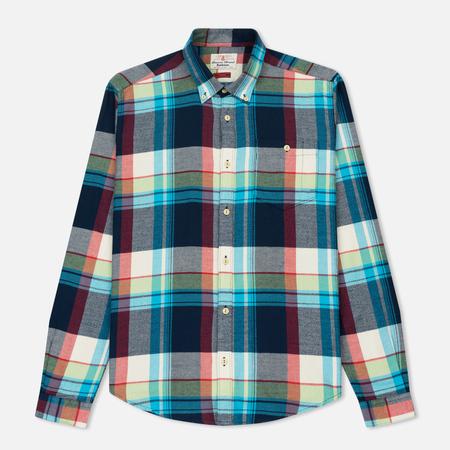 Мужская рубашка Barbour Leith Slim Fit Navy