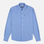 Мужская рубашка Barbour Leonard Marine Blue фото- 0