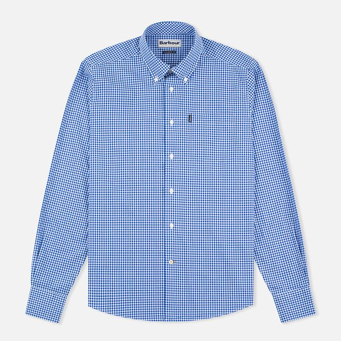 Мужская рубашка Barbour Leonard Marine Blue