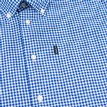 Мужская рубашка Barbour Leonard Marine Blue фото- 2