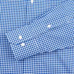 Мужская рубашка Barbour Leonard Marine Blue фото- 3