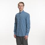 Мужская рубашка Barbour Leonard Navy фото- 5