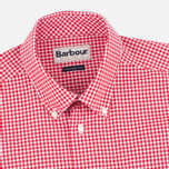Barbour Leonard Men's Shirt Red photo- 1