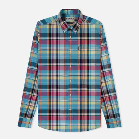 Мужская рубашка Barbour Madras Aqua